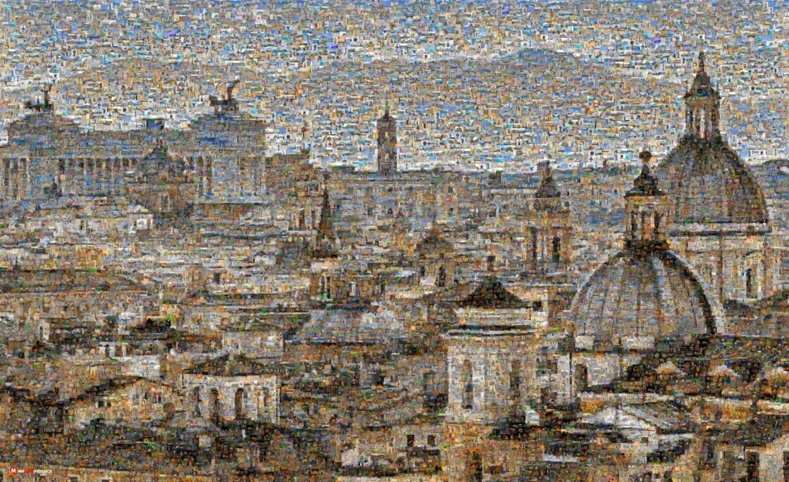 Is there a more picturesque and historic skyline than Rome? Truly beautiful.