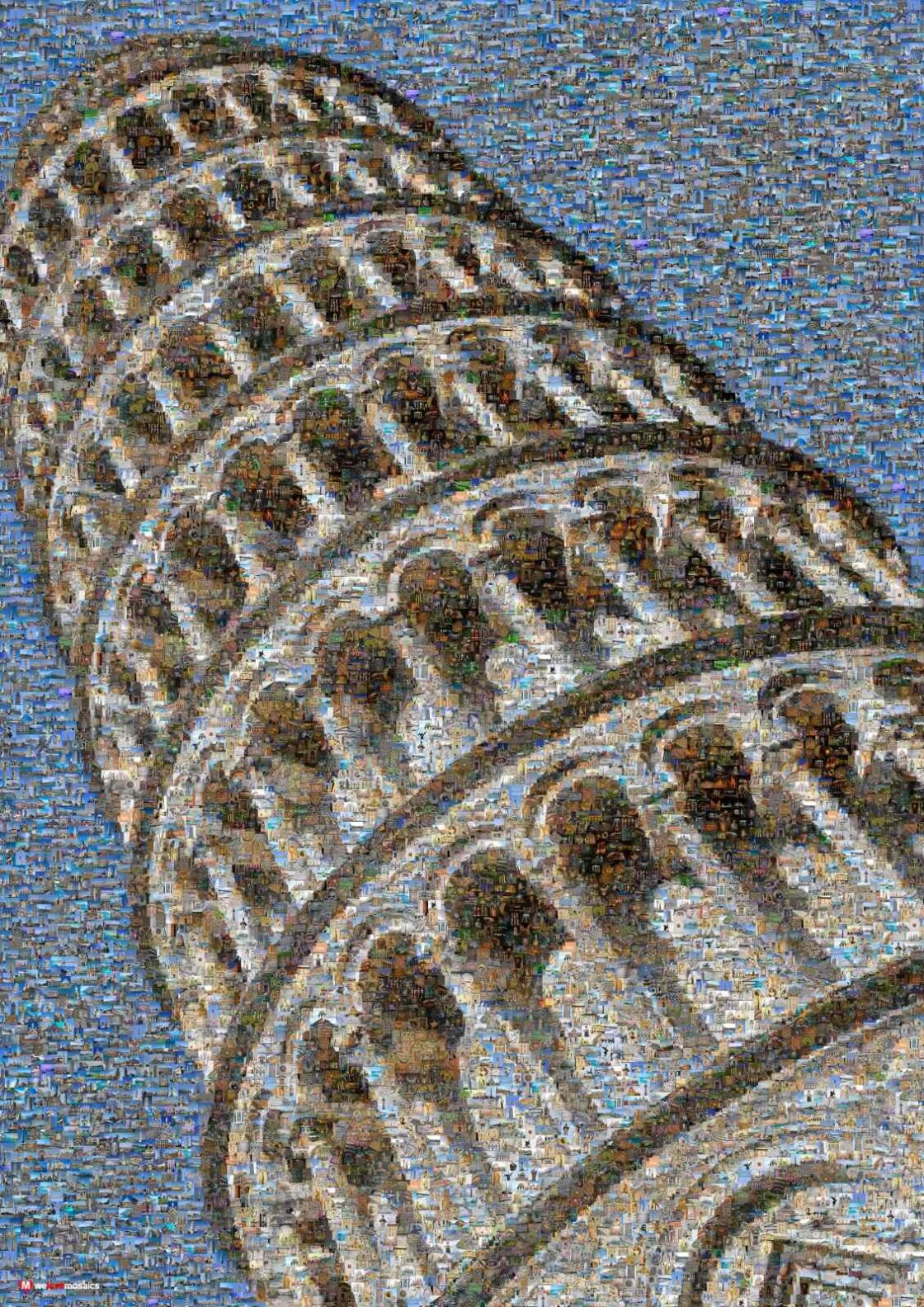 The leaning Tower of Pisa is a medieval architecture, in Romanesque style.