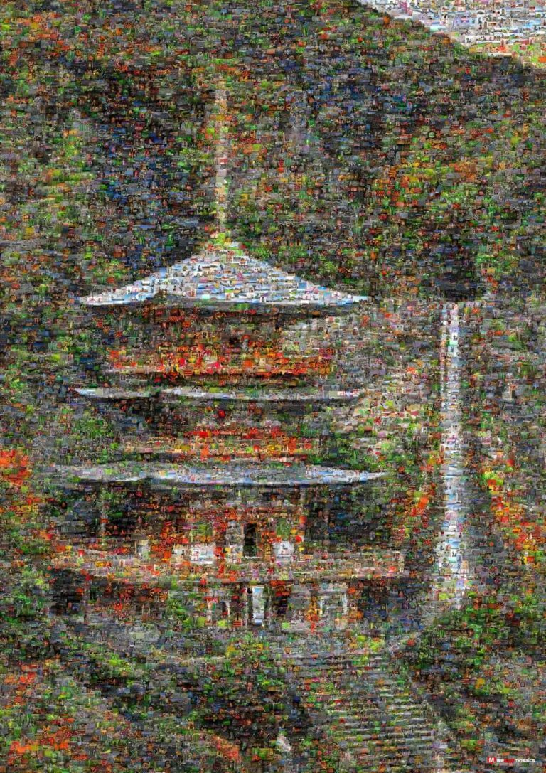 The temple was purposely built near Nachi Falls, where it may have previously been a site of nature worship.