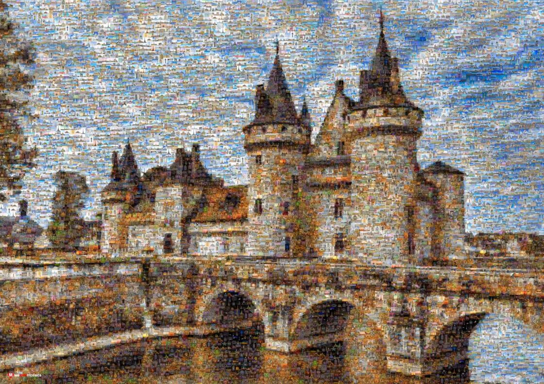 The imposing medieval architecture of the château de Sully has dominated the Loire for seven centuries.